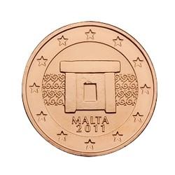 1 CENT MALTE 2011 BU 50.000 EX.