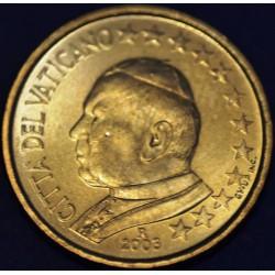 10 CENT VATICAN 2003 BU 65.000 EX.