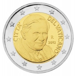 2 EURO VATICAN 2012 BU 85.000 EX.