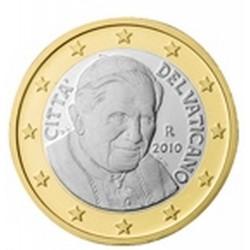 1 EURO VATICAN 2010 BU 94.000 EX.