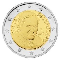 2 EURO VATICAN 2010 BU 94.000 EX.