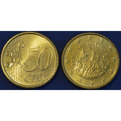 50 CENT SAN MARIN 2003 FDC 210.000 EX.