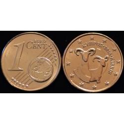 1 CENT CHYPRE 2013 UNC 100.000 EX.