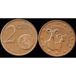 2 CENT CHYPRE 2013 UNC 100.000 EX.