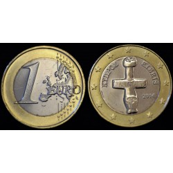 1 EURO CHYPRE 2014 UNC 100.000 EX.