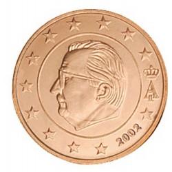 5 CENT Belgique 2002 UNC 140.000 EX.