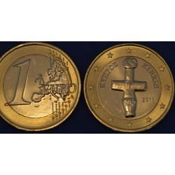 1 EURO CHYPRE 2011 UNC 210.000 EX.