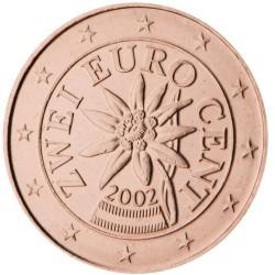 2 CENT Autriche 2002 UNC 326.400.000 EX.