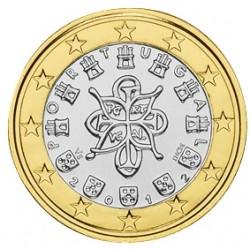 1 EURO PORTUGAL 2012 UNC 39.500 EX.