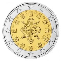 2 EURO PORTUGAL 2010 UNC 39.500 EX.