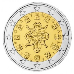 2 EURO PORTUGAL 2011 UNC 39.500 EX.