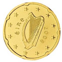 20 CENT Irlande 2008 UNC 45.970.000 EX.