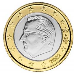 1 EURO BELGIQUE 2002 UNC 84.666.660 EX.