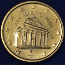 10 CENT SAN MARIN 2002 BU 120.000 EX.