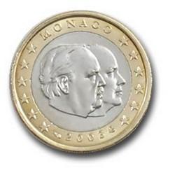 1 EURO MONACO 2003  135.000 EX.