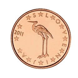 1 CENT SLOVENIE 2011 BU 15.000 EX.