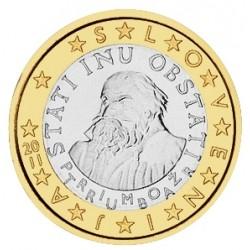 1 EURO SLOVENIE 2011 BU 15.000 EX.
