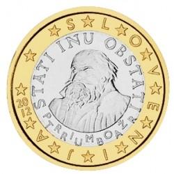 1 EURO SLOVENIE 2012 BU 15.000 EX.