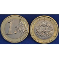 1 EURO SAN MARIN 2004 BU 210.000 EX.