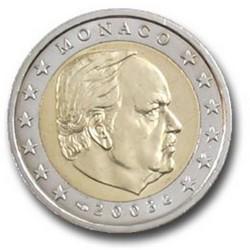 2 EURO MONACO 2003  228.000 EX.