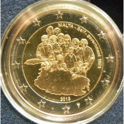 Malte 2 Euro commémorative 2013 - Constitution du gouvernement autonome de 1921 - avec différent  35.000 EX.