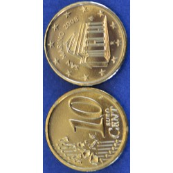 10 CENT SAN MARIN 2008 BU 50.000 EX.