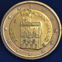2 EURO SAN MARIN 2009 BU 50.000 EX.