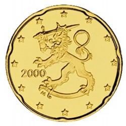 20 CENT FINLANDE 2000 BU 500.000 EX.