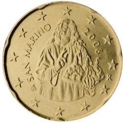 20 CENT SAN MARIN 2006 BU 65.000 EX.