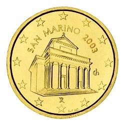 10 CENT SAN MARIN 2003 BU 70.000 EX.