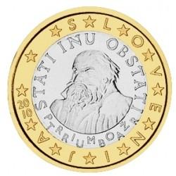 1 EURO SLOVENIE 2010 BU 70.000 EX.