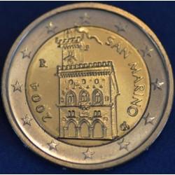 2 EURO SAN MARIN 2004 BU 70.000 EX.