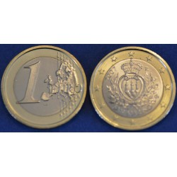 1 EURO SAN MARIN 2007 BU 70.000 EX.