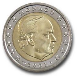 2 EURO MONACO 2001  923.300 EX.