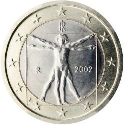 1 EURO Italie 2002 BU 965.875.300 EX.