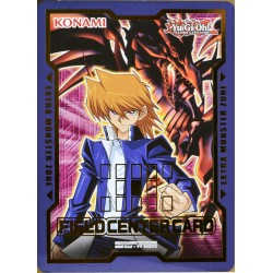 carte YU-GI-OH DUDE03 Field Center Joey Wheeler & le Dragon Noir aux Yeux Rouges NEUF FR
