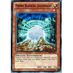 carte YU-GI-OH SDBE-FR013 Pierre Blanche Légendaire Commune NEUF FR