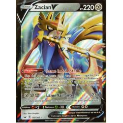 carte Pokémon 138/202 Zacian V EB01 - Epée et Bouclier 1 NEUF FR