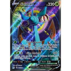 carte Pokémon 187/202 Sinistrail V EB01 - Epée et Bouclier 1 NEUF FR
