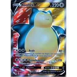 carte Pokémon 197/202 Ronflex V EB01 - Epée et Bouclier 1 NEUF FR