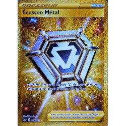carte Pokémon 214/202 Écusson Métal EB01 - Epée et Bouclier 1 NEUF FR