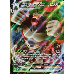 carte Pokémon 18/192 Gorythmic-VMAX EB02 - Epée et Bouclier - Clash des Rebelles NEUF FR