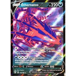 carte Pokémon 116/189 Éthernatos-V EB03 - Epée et Bouclier - Ténèbres Embrasées NEUF FR