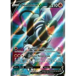 carte Pokémon 178/189 Démolosse-V EB03 - Epée et Bouclier - Ténèbres Embrasées NEUF FR