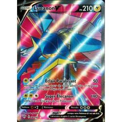 carte Pokémon 180/189 Lucanon-V EB03 - Epée et Bouclier - Ténèbres Embrasées NEUF FR
