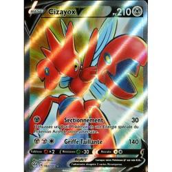 carte Pokémon 183/189 Cizayox-V EB03 - Epée et Bouclier - Ténèbres Embrasées NEUF FR