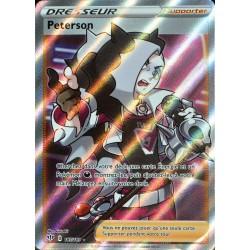 carte Pokémon 187/189 Peterson EB03 - Epée et Bouclier - Ténèbres Embrasées NEUF FR