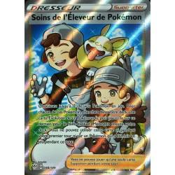 carte Pokémon 188/189 Soins de l'Éleveur de Pokémon EB03 - Epée et Bouclier - Ténèbres Embrasées NEUF FR