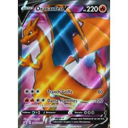 carte Pokémon SWSH050 Dracaufeu V 220 PV - FULL ART Promo NEUF FR
