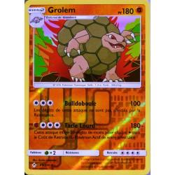 carte Pokémon 89/214 Grolem - Reverse SL10 - Soleil et Lune - Alliance Infaillible NEUF FR